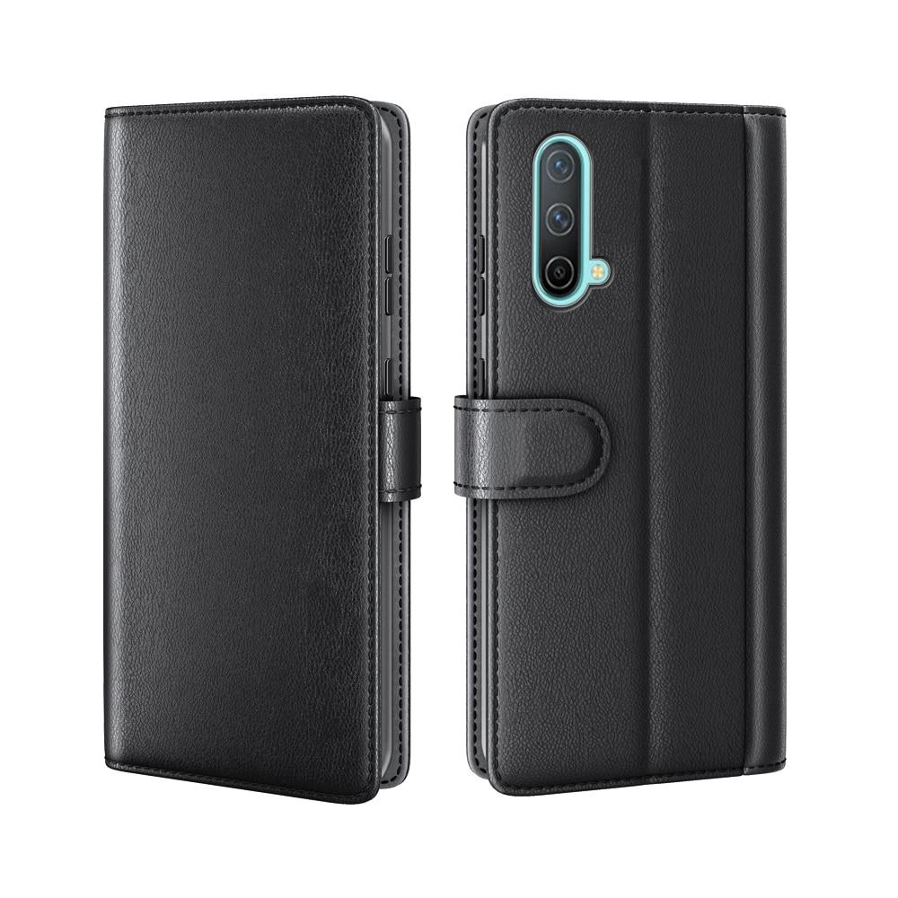 Ekte Lærveske OnePlus Nord CE 5G svart