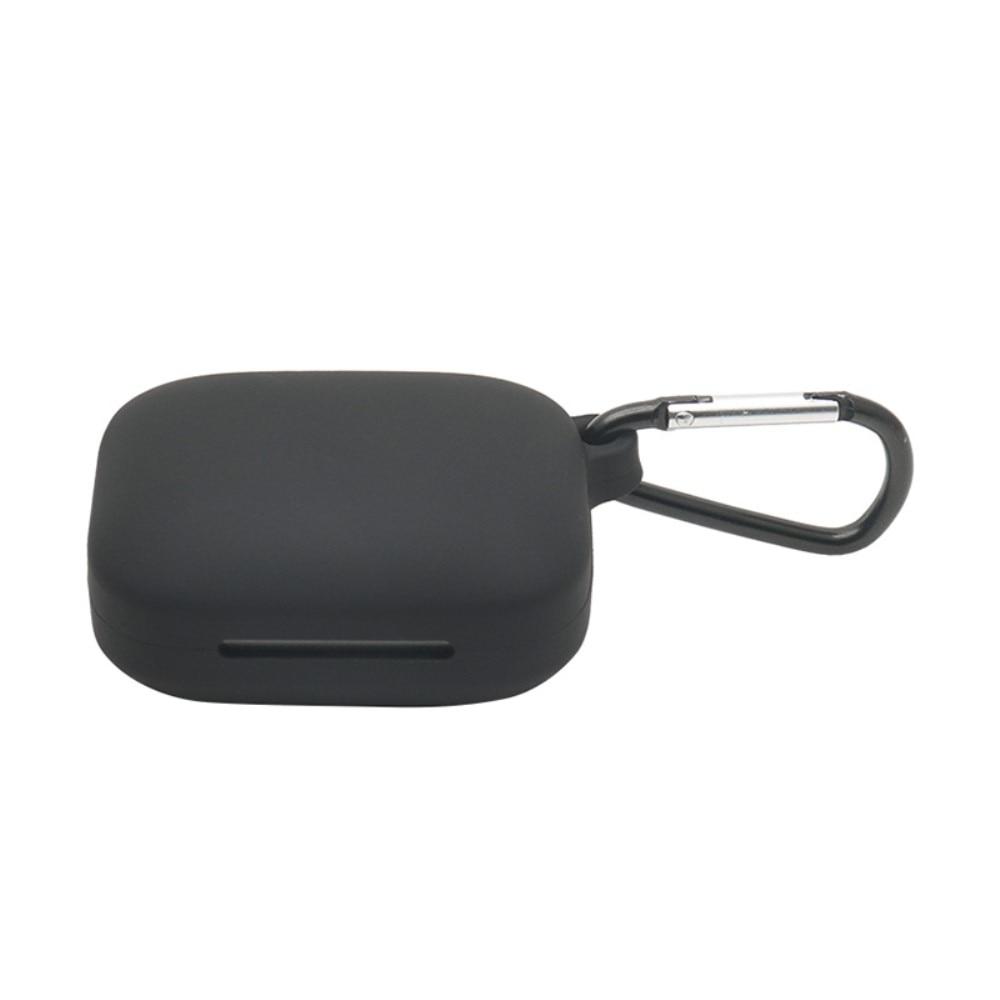 Silikondeksel med karabinkrok OnePlus Buds Pro svart