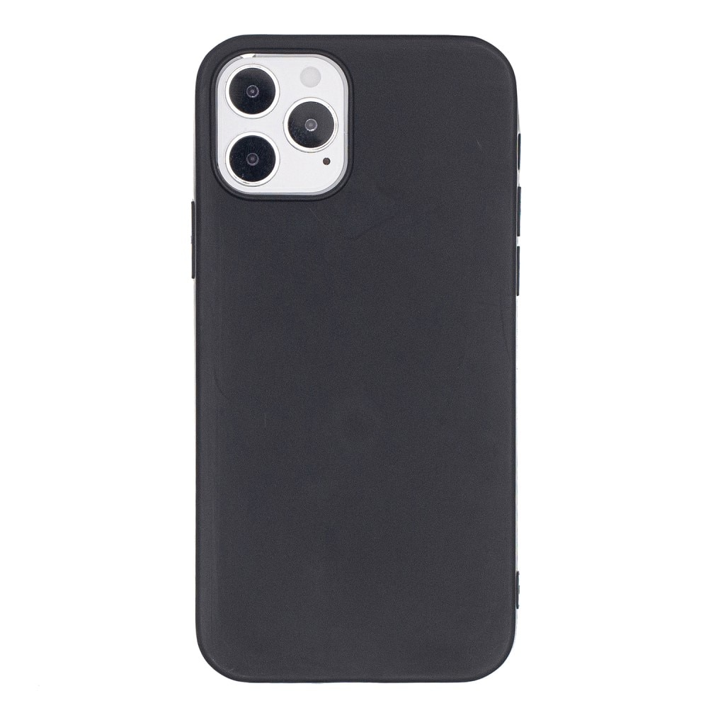 TPU Deksel iPhone 12/12 Pro svart