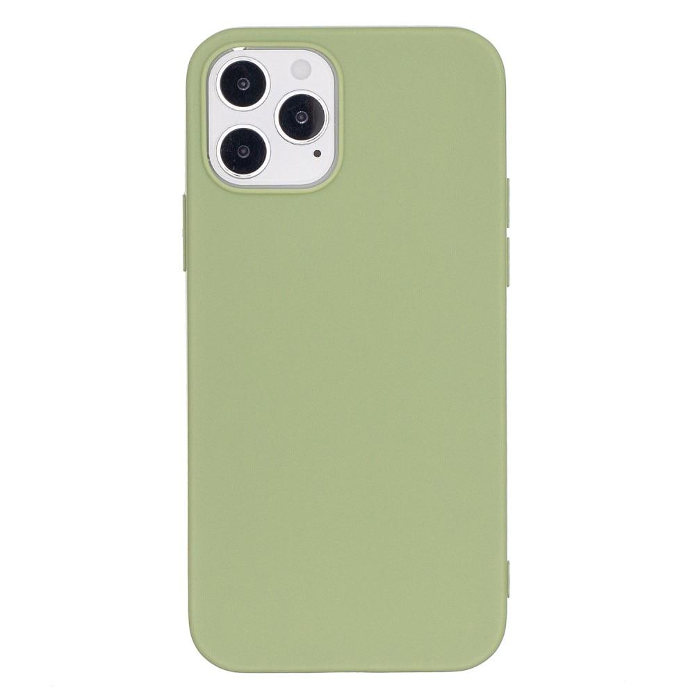 TPU Deksel iPhone 12/12 Pro grønn