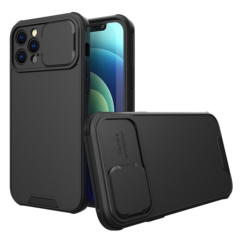 Deksel kamerabeskyttelse iPhone 12 Pro svart