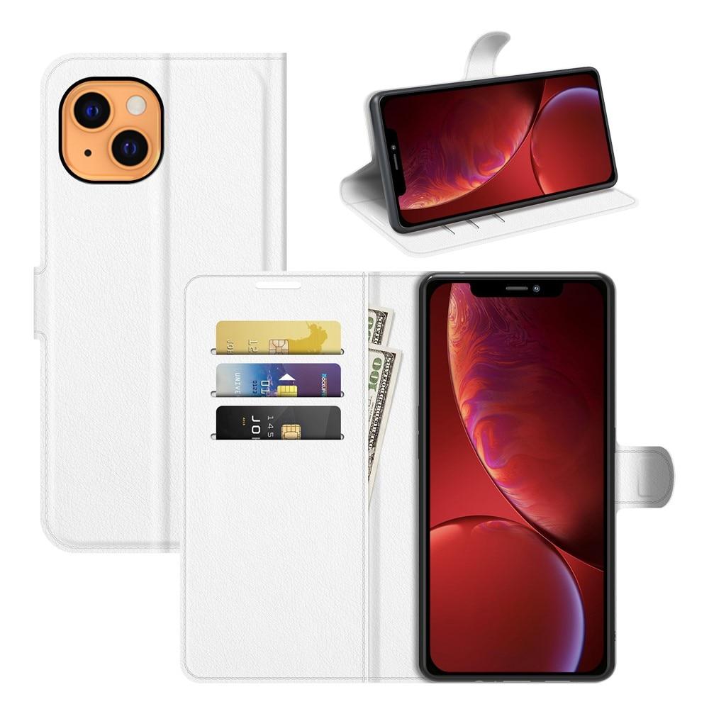 Mobilveske iPhone 13 Mini hvit