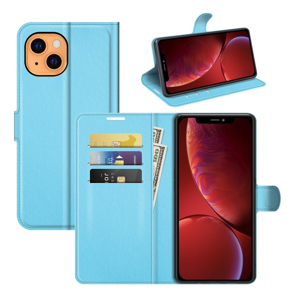 Mobilveske iPhone 13 Mini blå