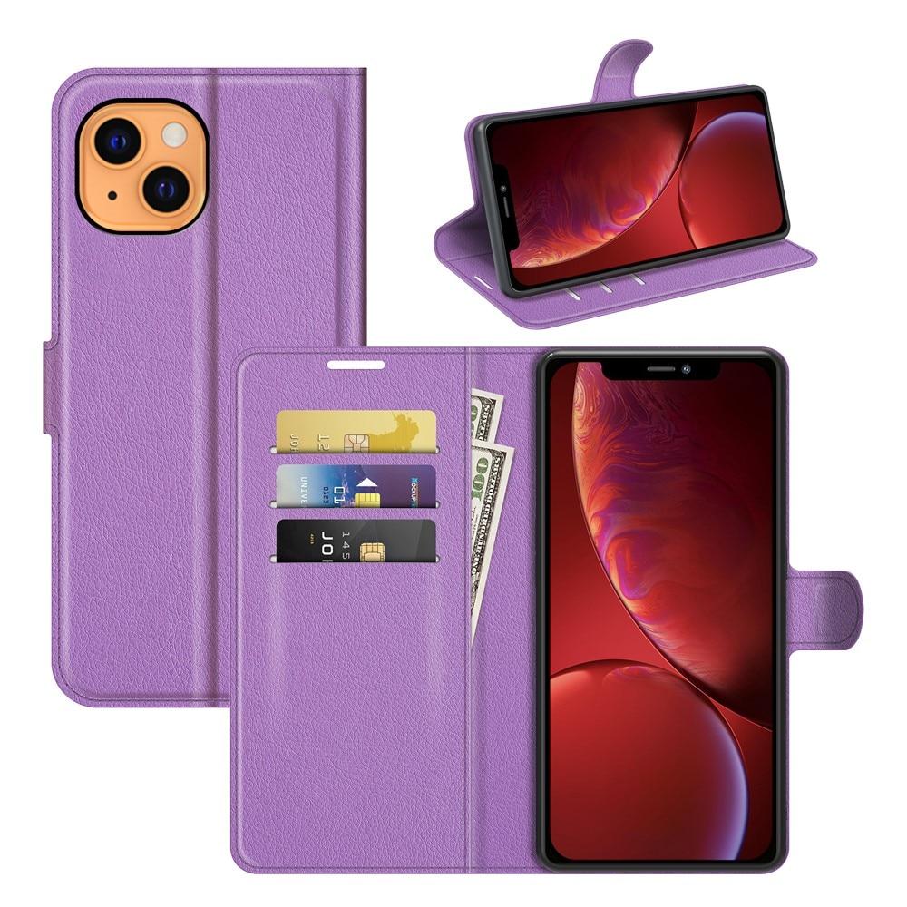 Mobilveske iPhone 13 Mini lilla