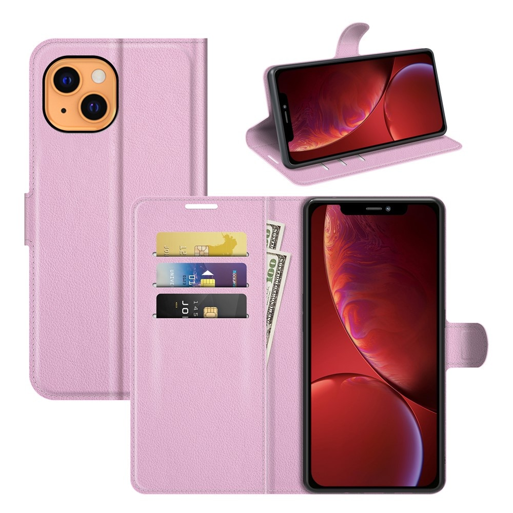 Mobilveske iPhone 13 rosa