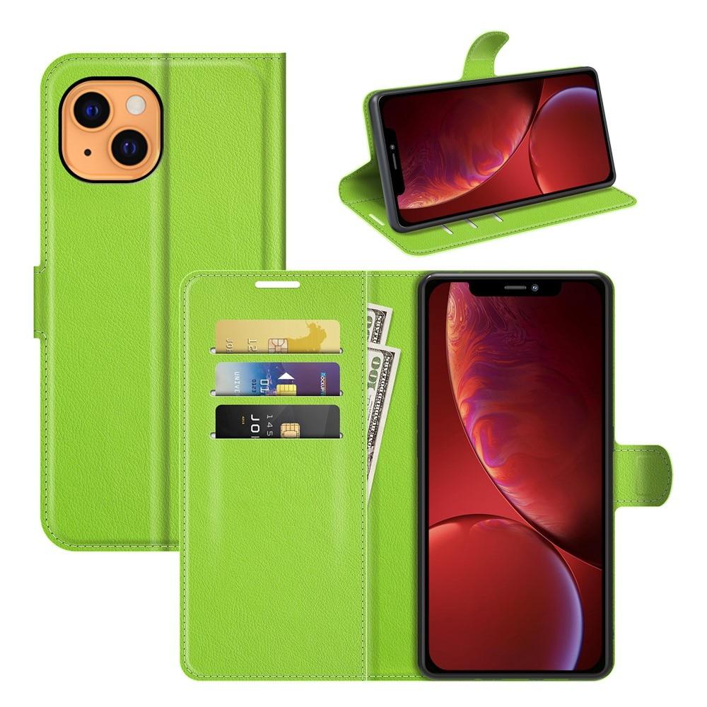 Mobilveske iPhone 13 Mini grønn