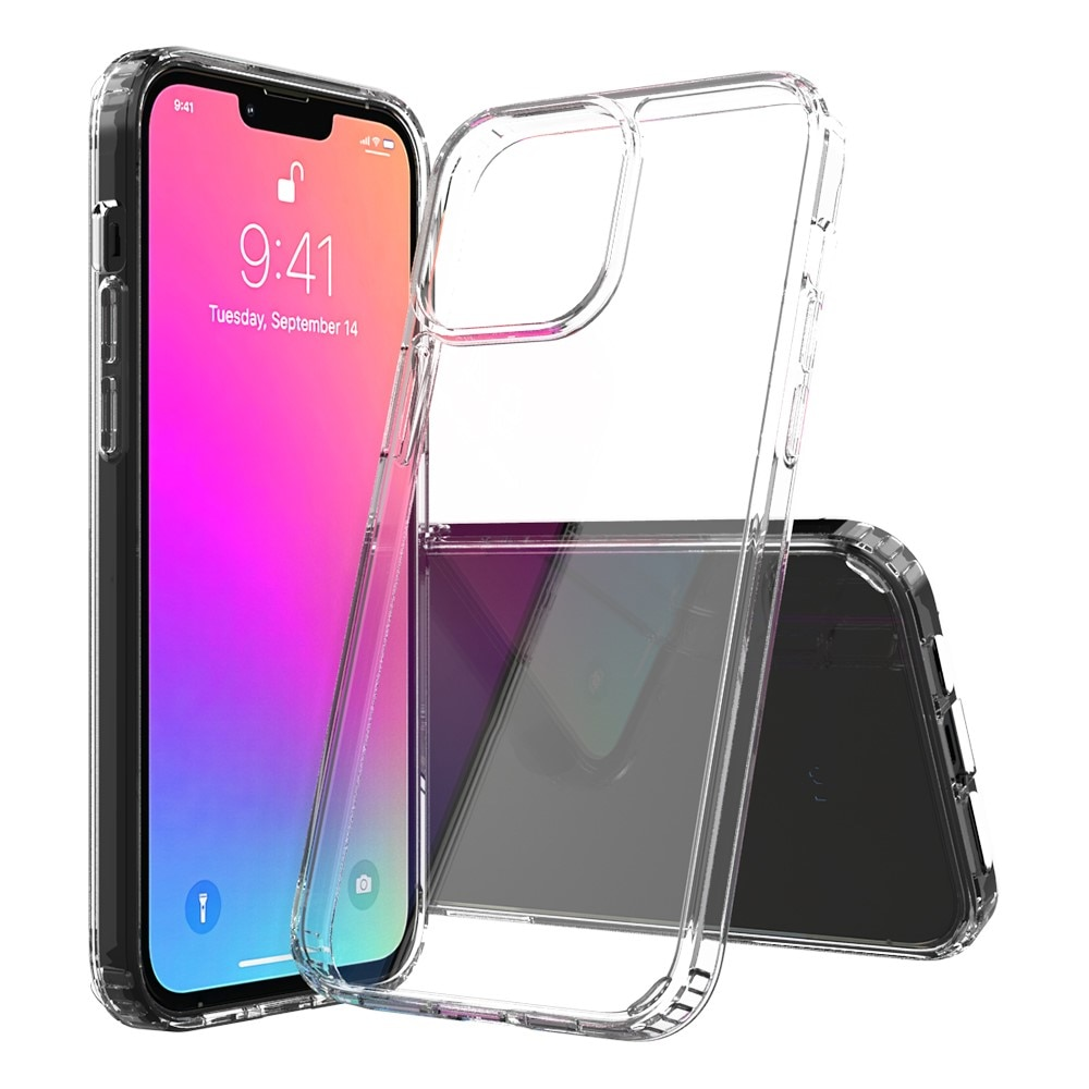 Crystal Hybrid Case iPhone 13 Pro Max Transparent