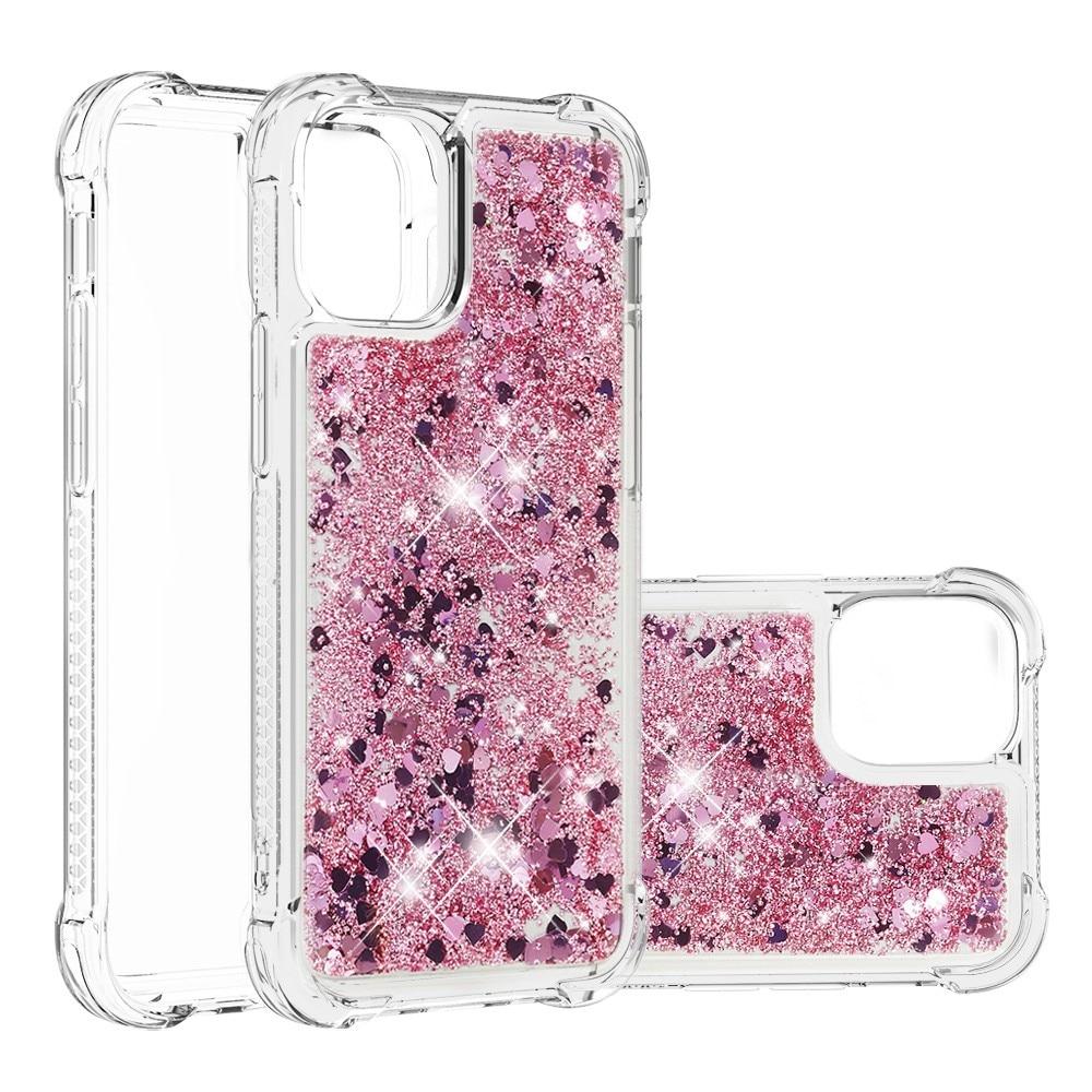 Glitter Powder TPU Case iPhone 13 Mini  rosegull