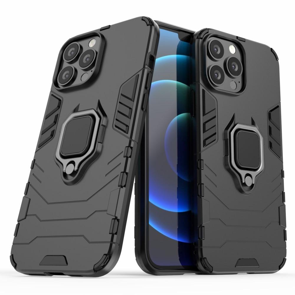Hybriddeksel Tech Ring iPhone 13 Pro Max svart