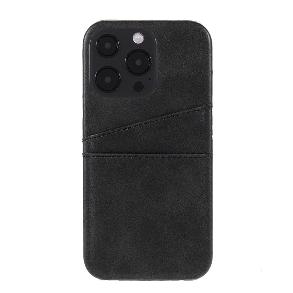 Card Slots Case Apple iPhone 13 Pro svart