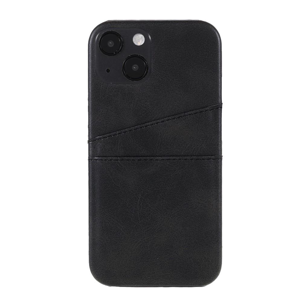 Card Slots Case Apple iPhone 13 Mini svart