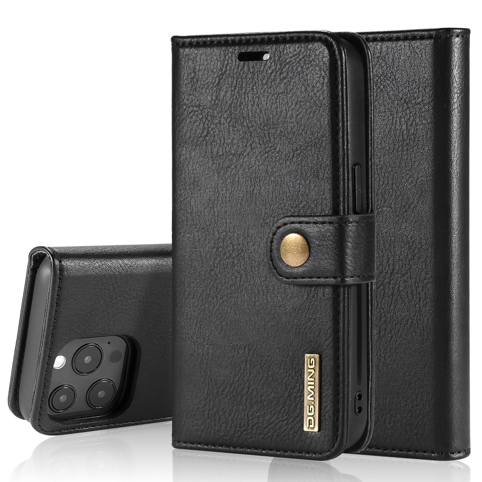 Magnet Wallet iPhone 13 Pro Max Black