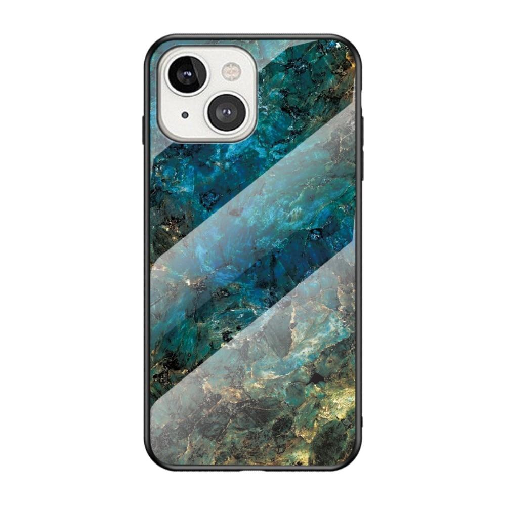 Herdet Glass Deksel Apple iPhone 13 Mini emerald