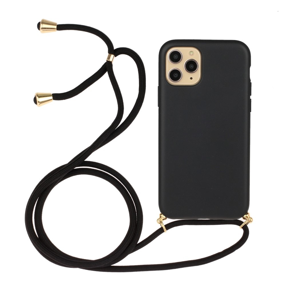 Deksel Halskjede iPhone 13 Mini Svart