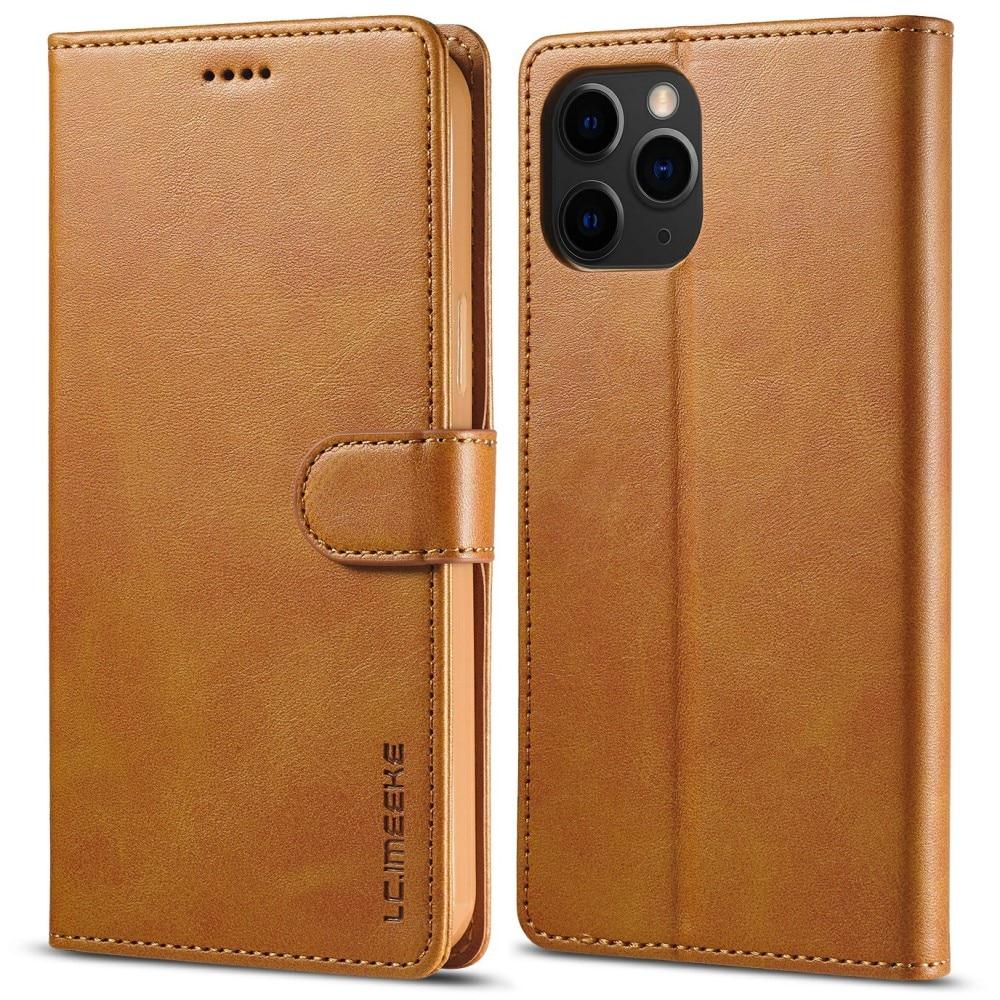 Lommebokdeksel iPhone 13 Pro Max cognac