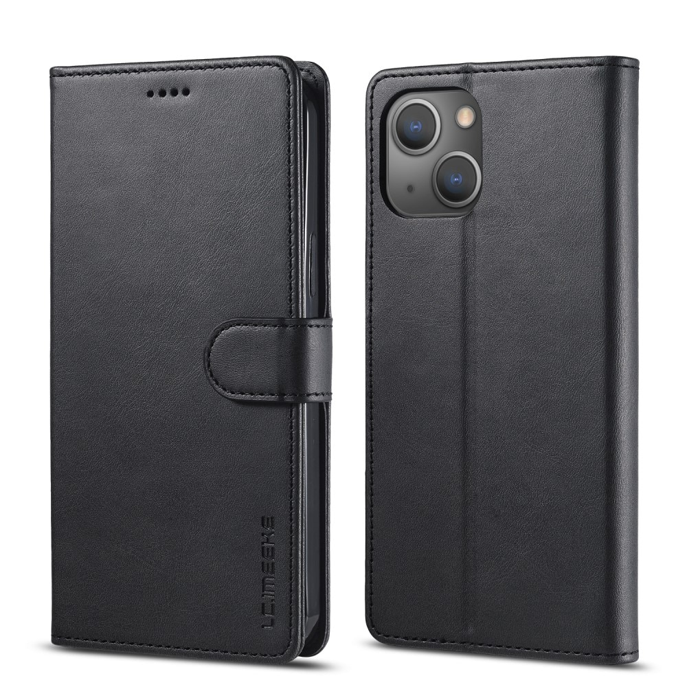 Lommebokdeksel iPhone 13 svart