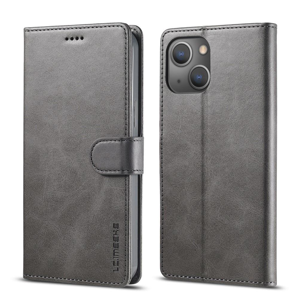 Lommebokdeksel iPhone 13 grå