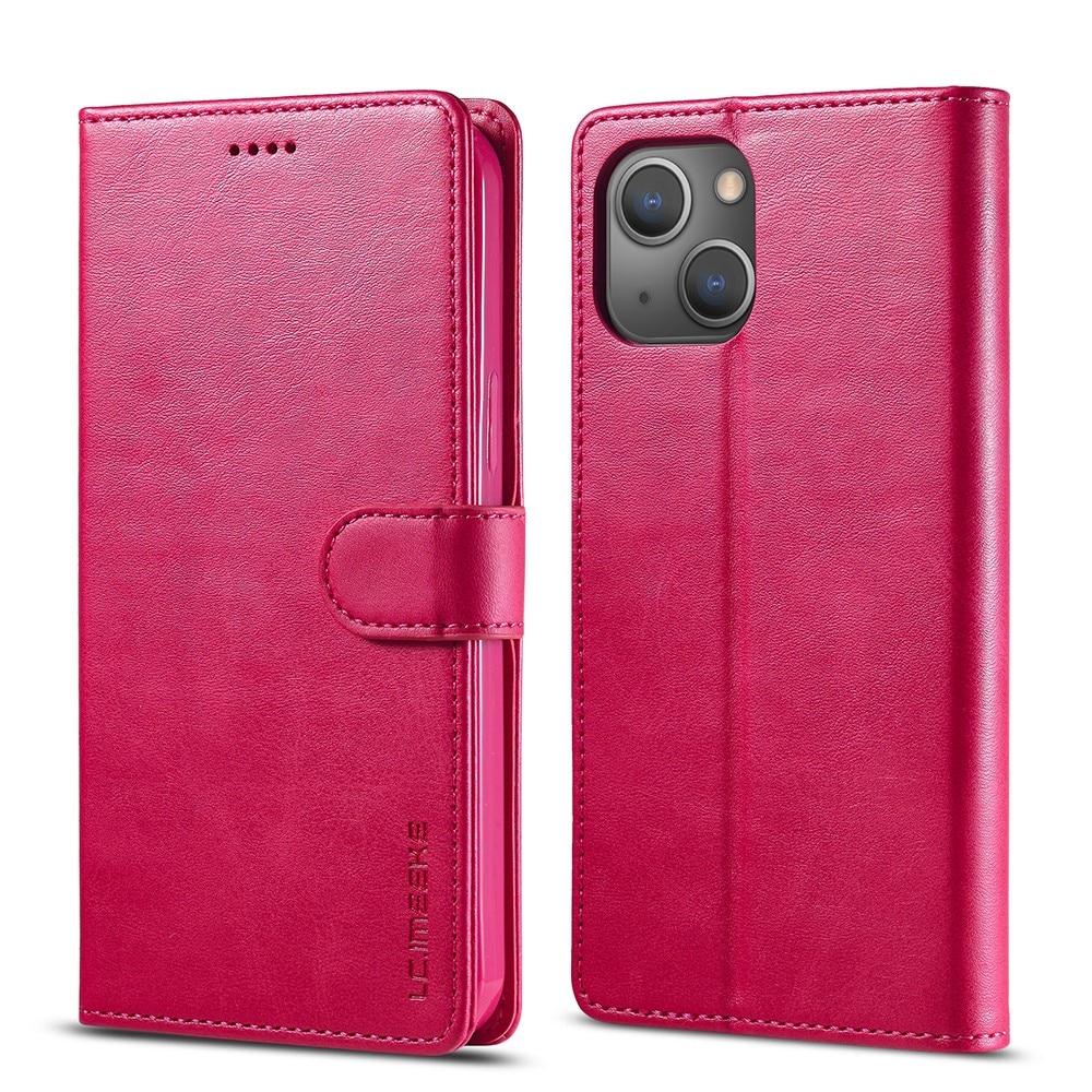 Lommebokdeksel iPhone 13 rosa