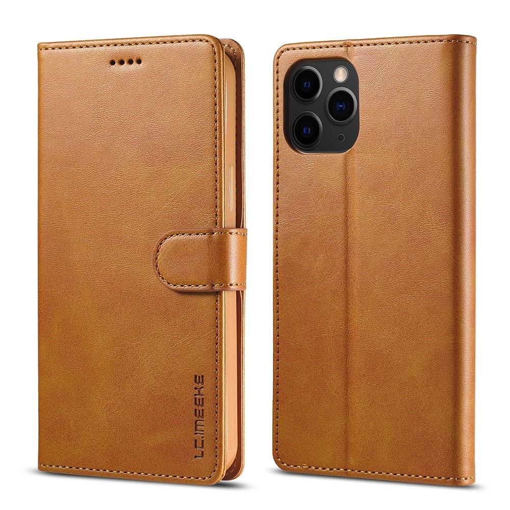 Lommebokdeksel iPhone 13 Pro cognac