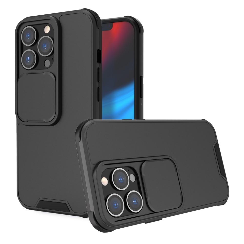 Deksel kamerabeskyttelse iPhone 13 Pro svart