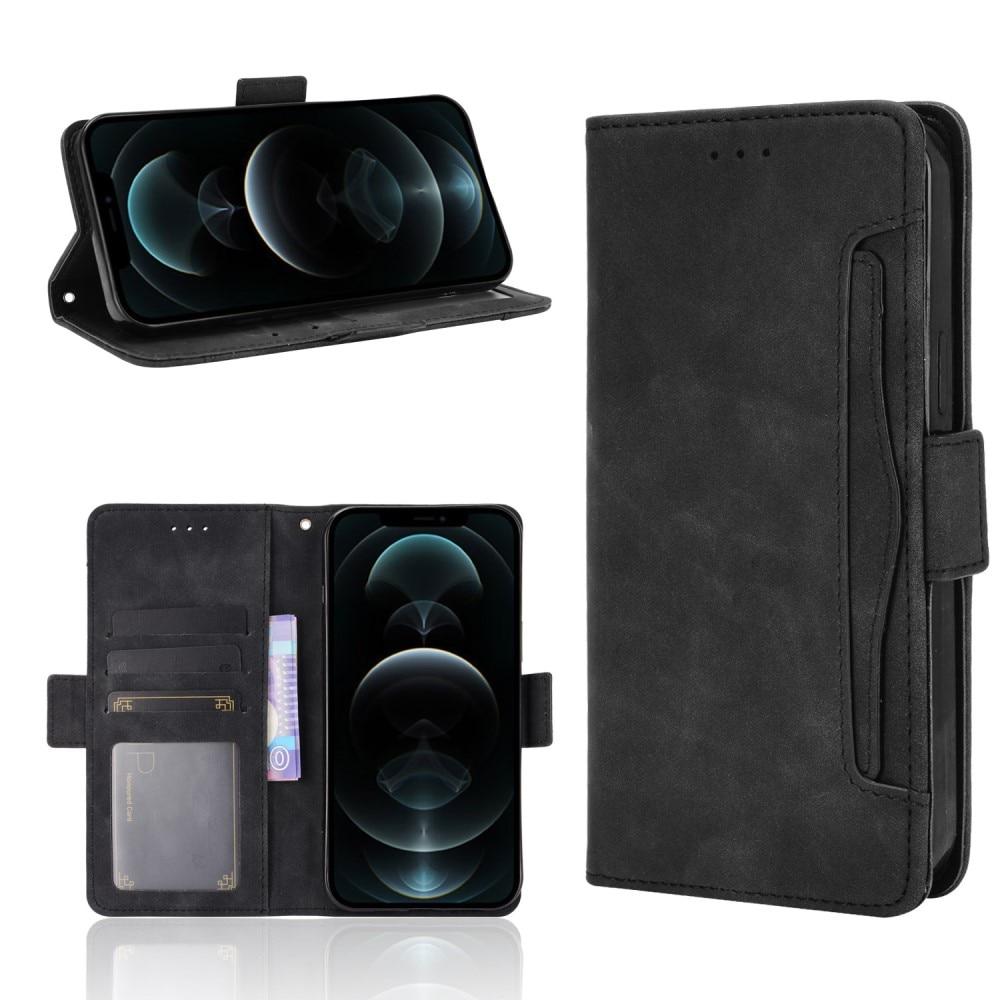 Multi Lommebokdeksel iPhone 13 Pro Max svart