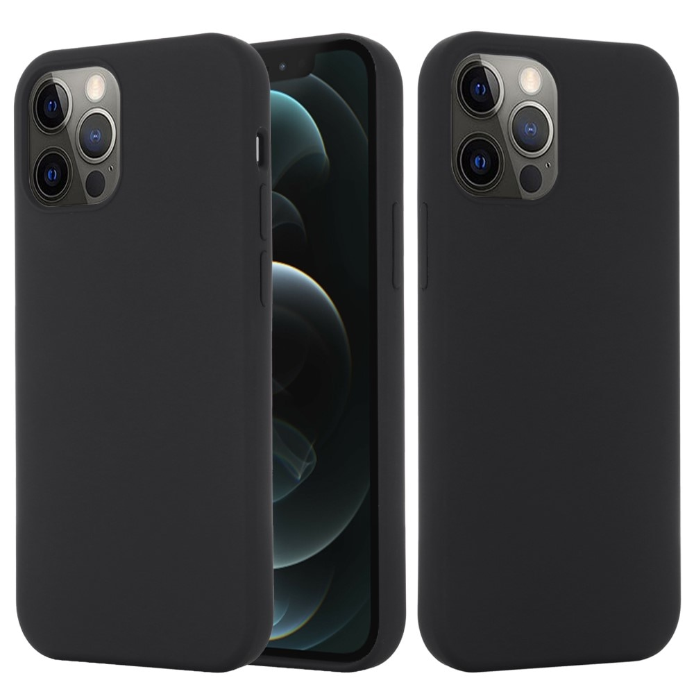 Silicone Magnetic Case iPhone 13 Pro Black