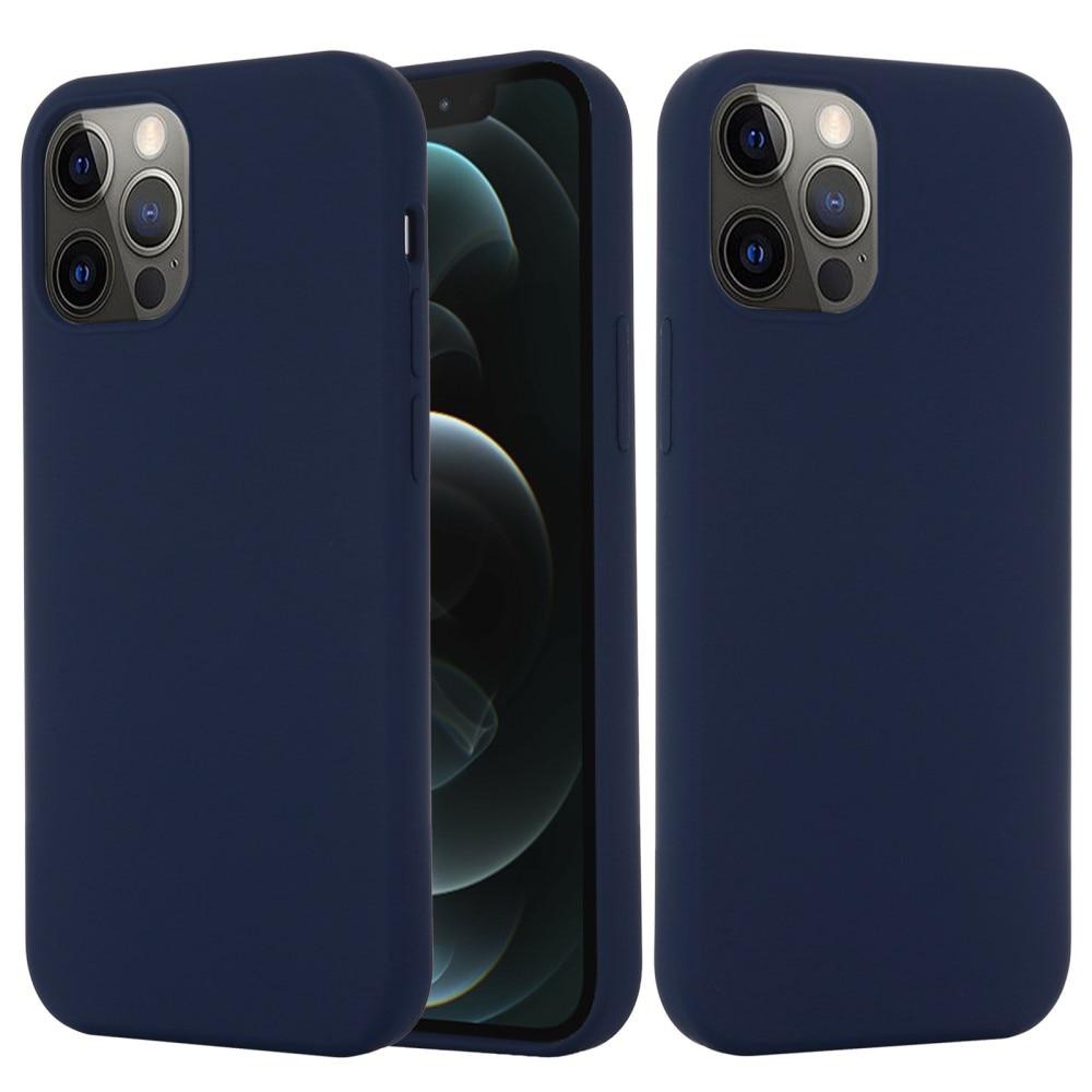 Silicone Magnetic Case iPhone 13 Dark Blue