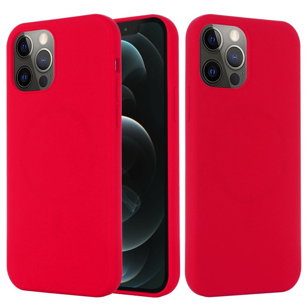 Silicone Magnetic Case iPhone 13 Red