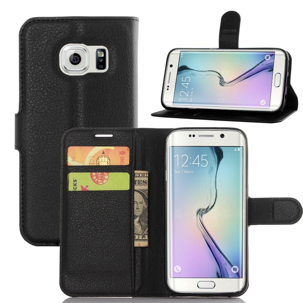 Mobilveske Samsung Galaxy S7 Edge svart
