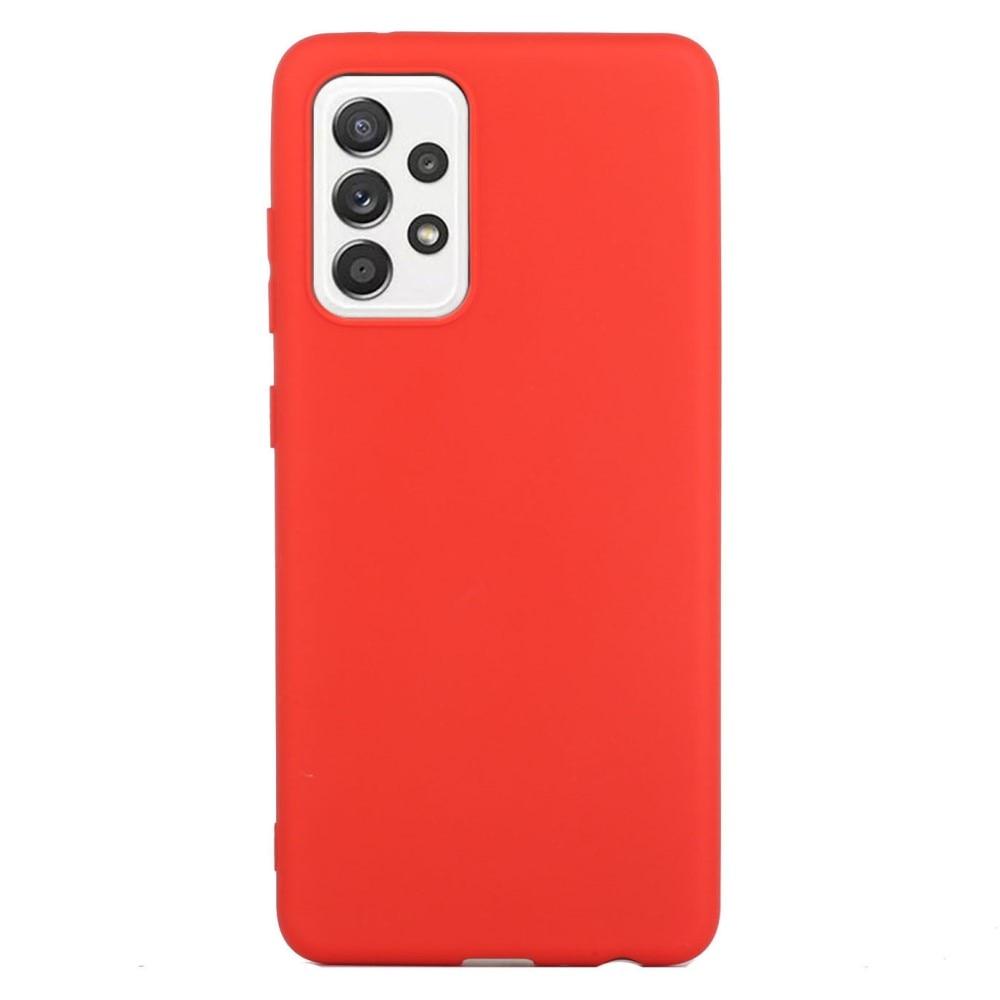 TPU Deksel Samsung Galaxy A52 rød