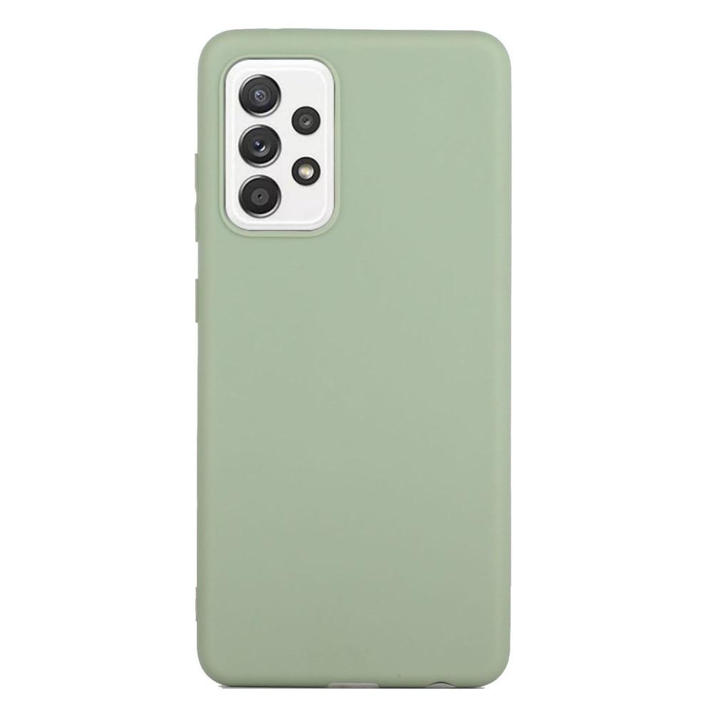 TPU Deksel Samsung Galaxy A52 grønn