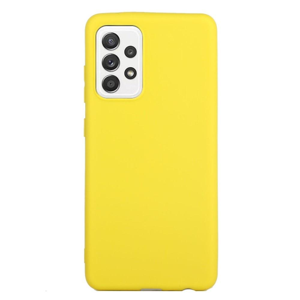 TPU Deksel Samsung Galaxy A52 gul