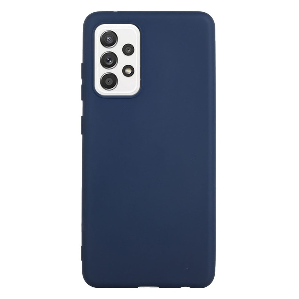 TPU Deksel Samsung Galaxy A52 blå
