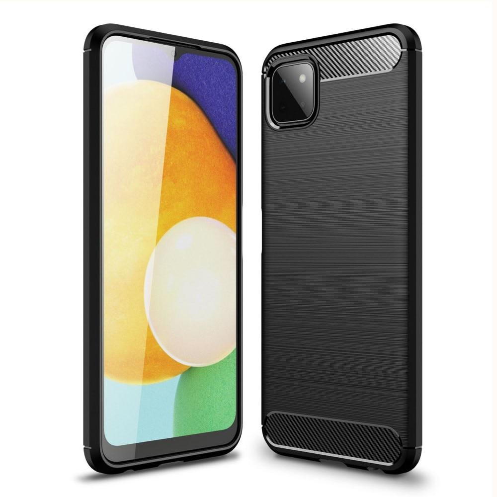 Brushed TPU Deksel Samsung Galaxy A22 5G Black