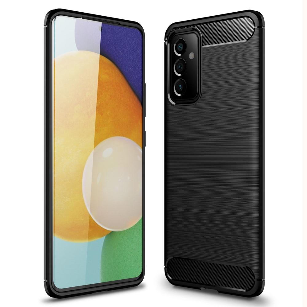 Brushed TPU Deksel Samsung Galaxy A82 5G Black