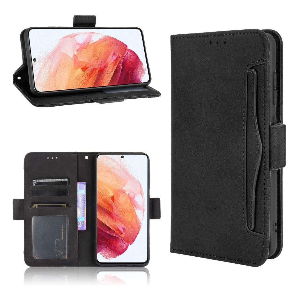Multi Lommebokdeksel Samsung Galaxy S21 FE svart