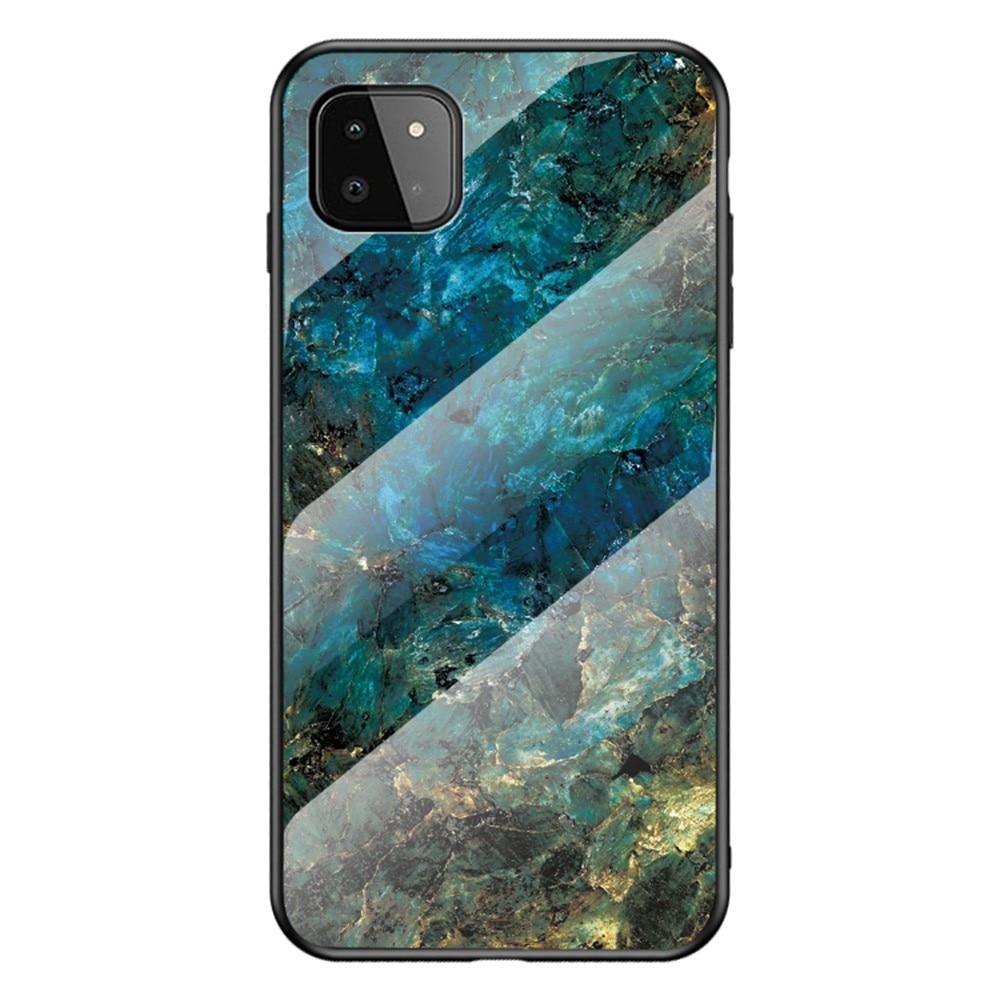 Herdet Glass Deksel Samsung Galaxy A22 5G emerald