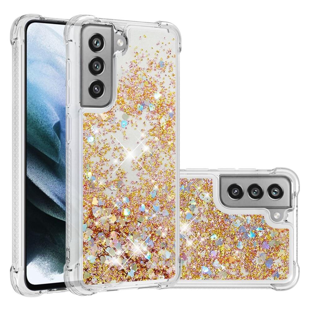 Glitter Powder TPU Case Galaxy S21 FE gull