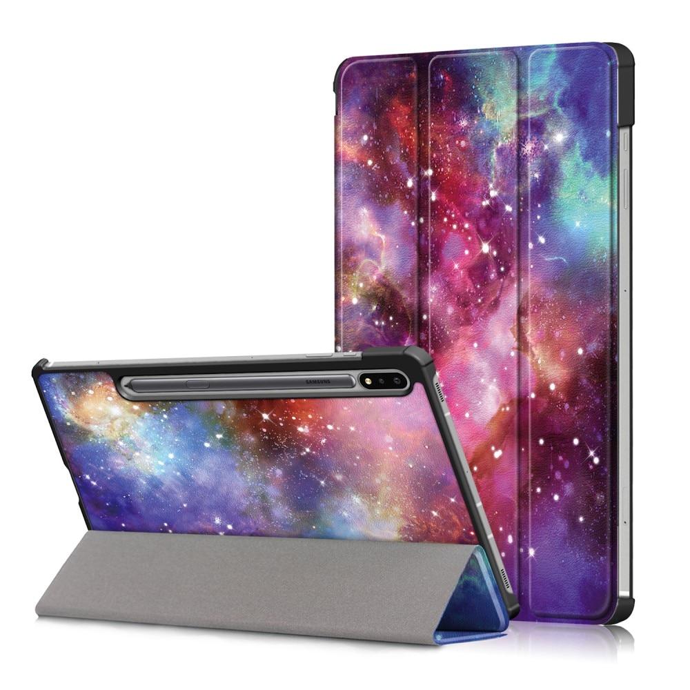 Etui Tri-fold Samsung Galaxy Tab S7 FE - Rymd