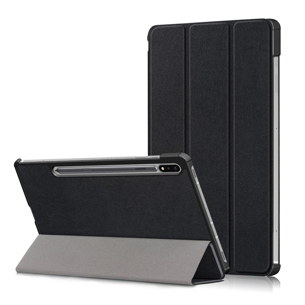Etui Tri-fold Samsung Galaxy Tab S7 FE svart