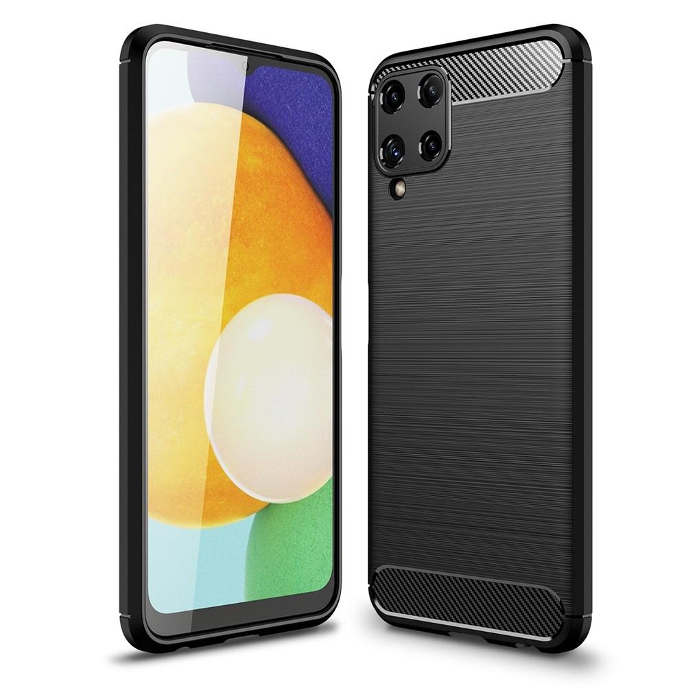 Brushed TPU Deksel Samsung Galaxy A22 4G Black