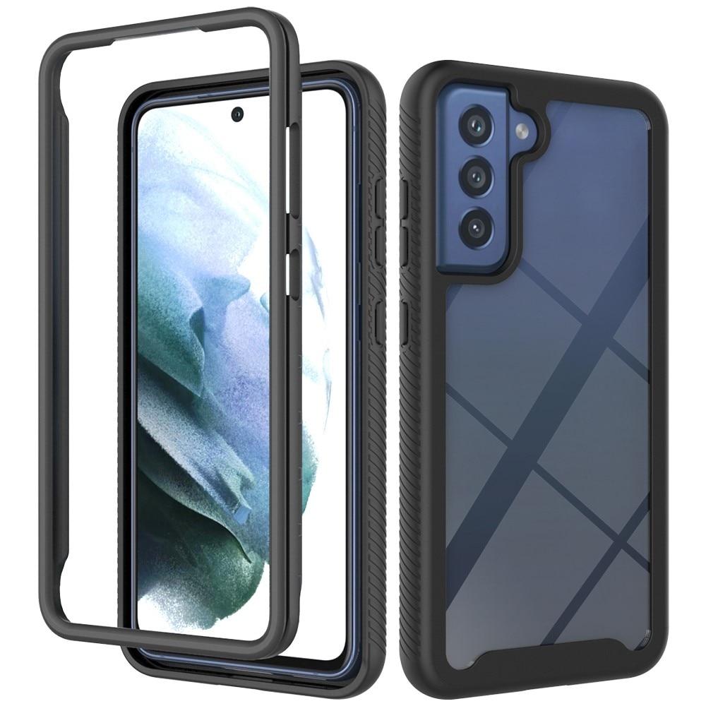 Full Cover Deksel Samsung Galaxy S21 FE svart