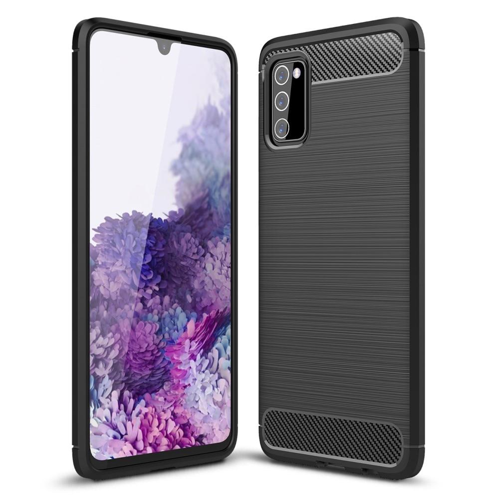 Brushed TPU Deksel Samsung Galaxy A03s Black