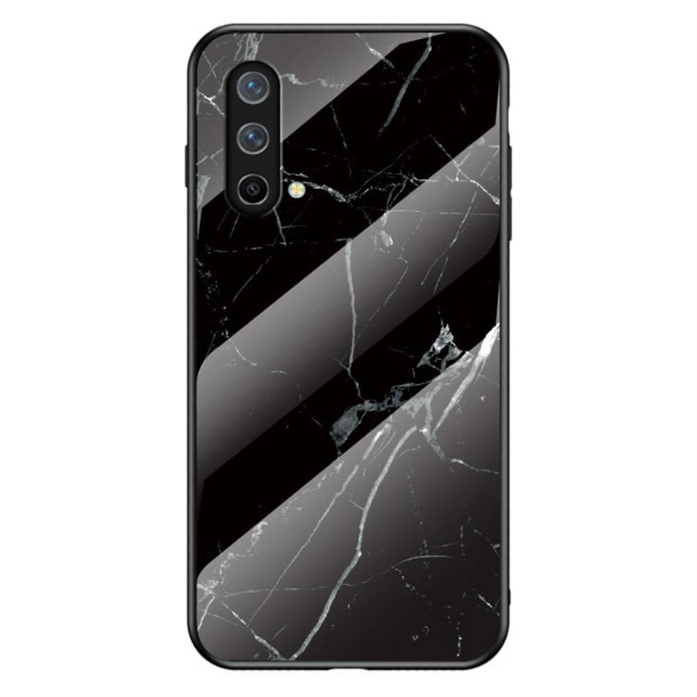 Herdet Glass Deksel OnePlus Nord CE 5G svart marmor