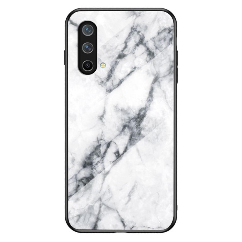 Herdet Glass Deksel OnePlus Nord CE 5G hvit marmor