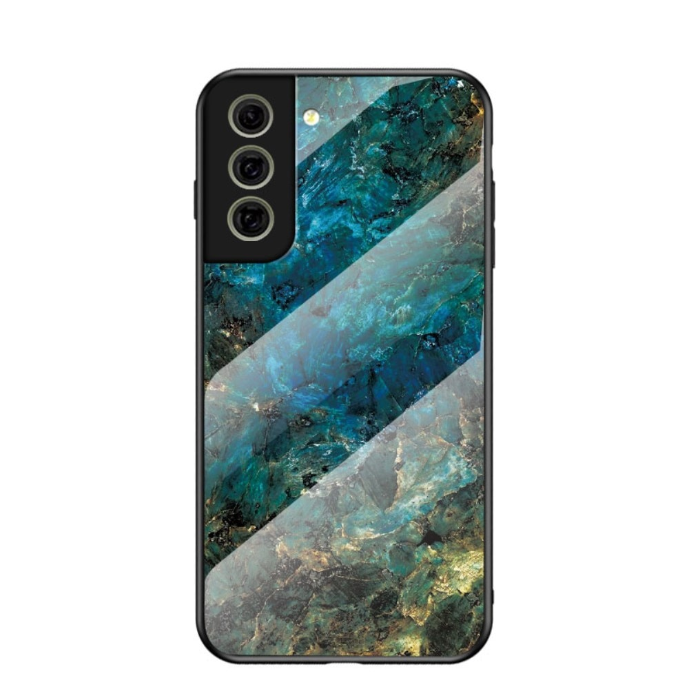 Herdet Glass Deksel Samsung Galaxy S21 FE emerald