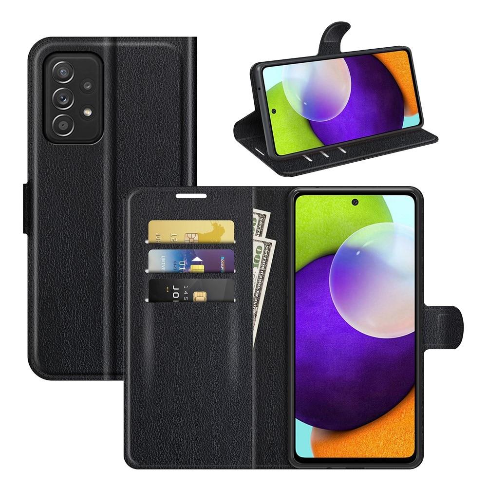 Mobilveske Samsung Galaxy A52/A52s svart