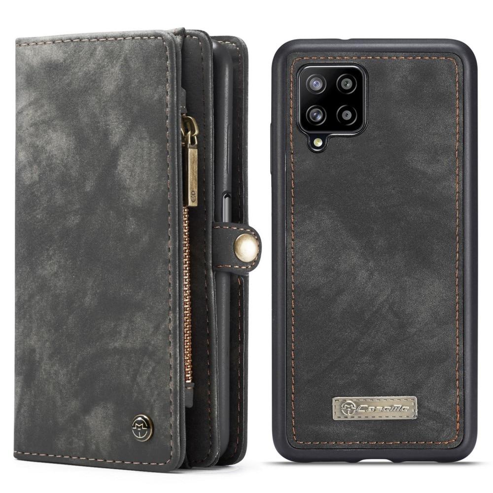 Multi-slot Lommeboksetui Samsung Galaxy A12 grå
