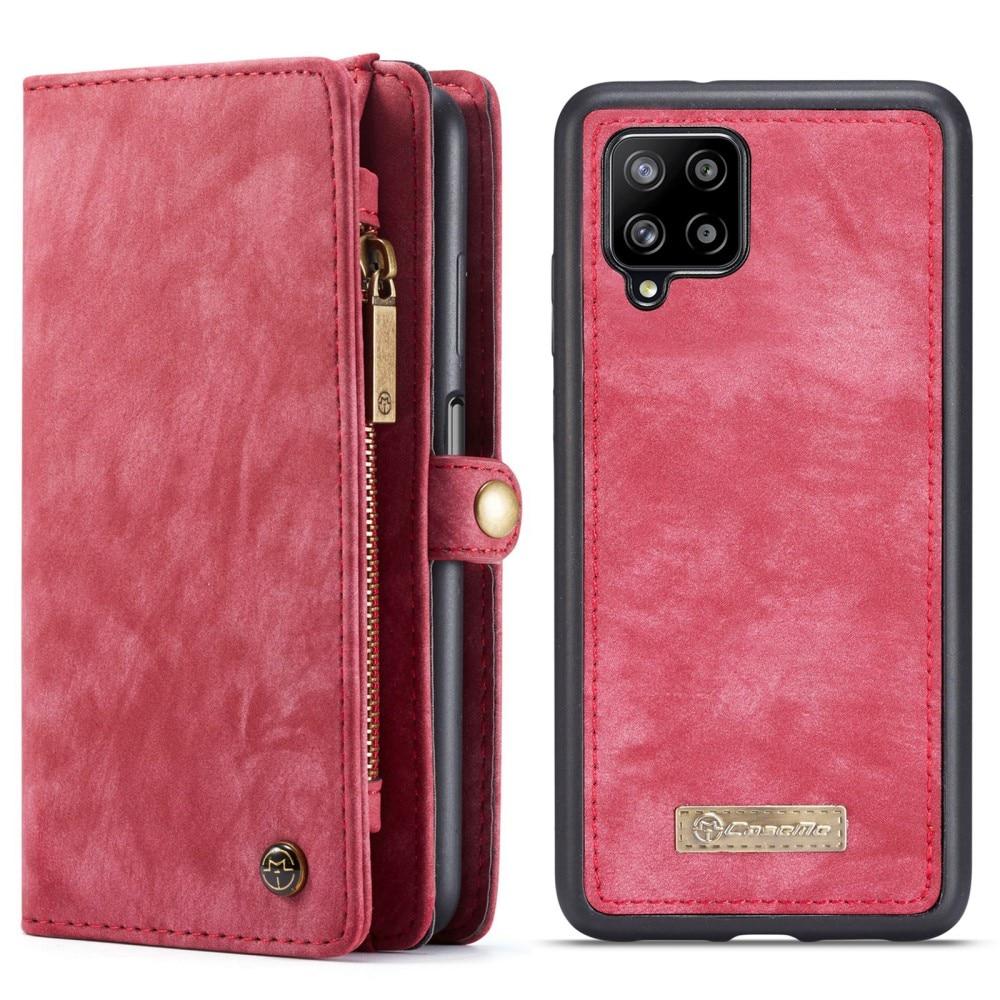 Multi-slot Lommeboksetui Samsung Galaxy A12 rød