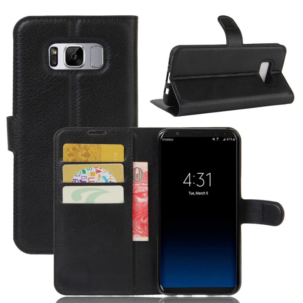 Mobilveske Samsung Galaxy S8 Plus svart